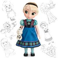 """Кукла Эльза """"Ледяное сердце"""" (Elsa Frozen) Disney Animators коллекционная серия Дисней -40см., фото 1"""