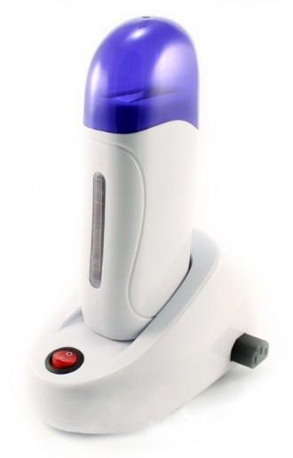 Воскоплав картриджный с базой на 1 кассету с окошком быстрый разогрев воск депиляция