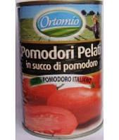Помидоры без кожы в соусе Ortomio 420гр