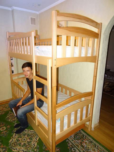 Ліжко двохярусне Каріна Люкс 1