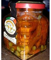 Вяленые помидоры в оливковом масле extra virgen Lartigiana 285гр