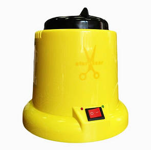 Стерилизатор шариковый Желтый (гласперленовый) маникюрный для инструментов HAR / 004 KS