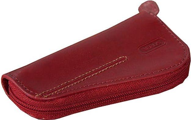 Кожаный чехол для ключей VERUS London 01R LN красный