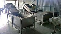 Барботажна з вигрузочним конвейером/транспортером та системою осушки