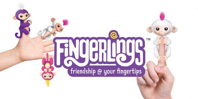 Интерактивные игрушки wowwee fingerlings