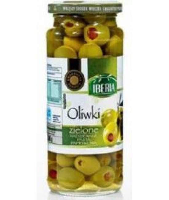 Оливки Iberia зеленые 340гр