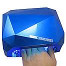 Лампа для шеллака 36 Вт CCFL (UV) + LED Лед лампа для ногтей  Лампа уф для маникюра гибридная mir / 003, фото 3