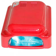 УФ лампа для шеллака гель-лака наращивания сушки ногтей  36Вт с вентилятором
