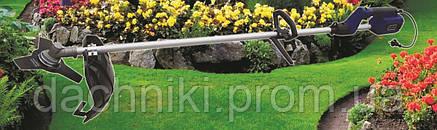 Коса электрическая Беларусмаш 3100 4 ножа 3 лески, фото 2