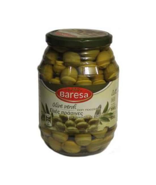 Оливки с косточкой Baresa  950гр