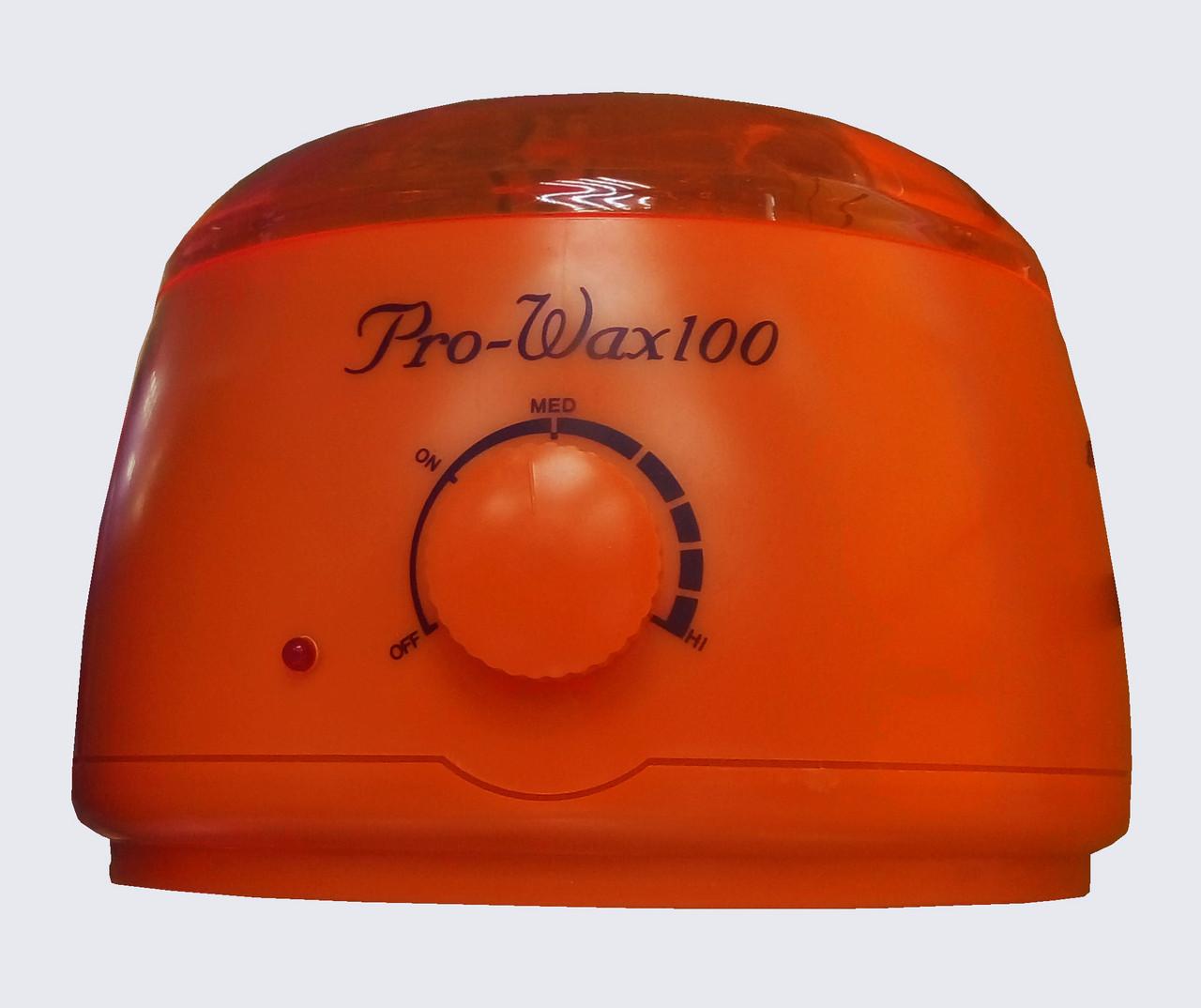 Воскоплав Pro Wax 100 на 400 мл для воска и парафина с регулятором температуры