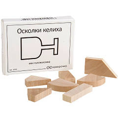 Деревянная головоломка Заморочка 5023 Осколки бокала