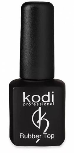 Верхнее покрытие KODI Rubber Top Gel 8 мл на гель лак, для наращивания ногтей финишное TD212 \ 88