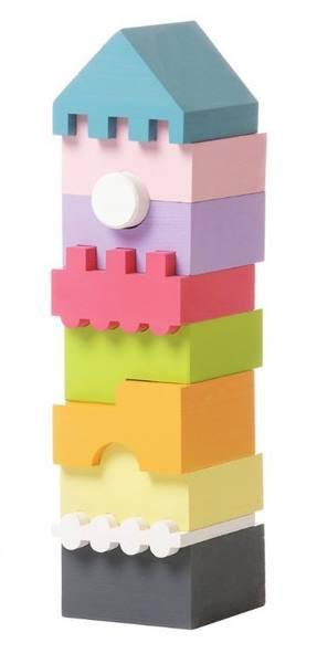 Пирамидка деревянная CUBIKA LD-1