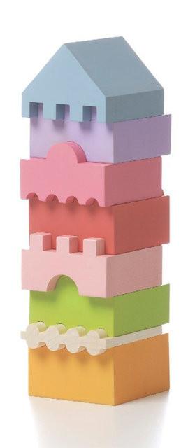 Пирамидка деревянная CUBIKA LD-4