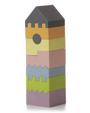 Пирамидка деревянная CUBIKA LD-3