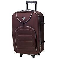 Дорожный чемодан на колесах Bonro Lux Coffee Средний