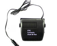 Портативный керамический обогреватель-вентилятор  салона автомобиля – почувствуй зимой дыхание лета!