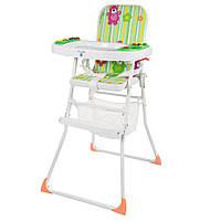 Яркий музыкальный стульчик для кормления Bambi М 0405-1