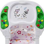 Яркий музыкальный стульчик для кормления Bambi М 0405-2 , фото 4
