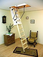 Деревянная складная чердачная лестница  OMAN Termo
