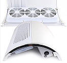 Маникюрный пылесос маникюрная вытяжка настольная с тремя двигателями SIMEI 858-5 HAR / -041 P, фото 3