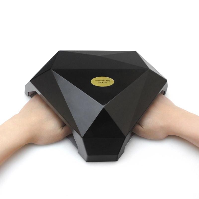 Лампа для шеллака LED Лед лампа для ногтей маникюр 60 Ватт Лампа уф для маникюра(две руки)