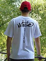 Футболка Off White you cut me off White   Люкс Реплика