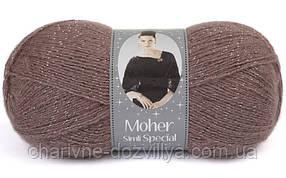 Пряжа для ручного и машинного вязания NAKO Moher Lux Simli Special