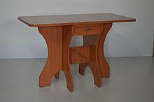 Стол Метелик раскладной ольха + столешница Кореница