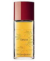 Женские духи Opium Yves Saint Laurent 100ml edt (восточный, роскошный, чувственный, глубокий, сексуальный)