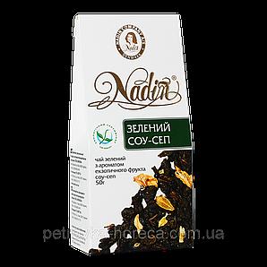 """Чай """"Зелений Соу-Сеп"""",зеленый 50 г, 1ящ/12шт"""