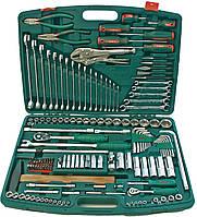 """Набір інструменту 158 предметів 1/4"""", 1/2"""" (TK-158V) HANS, фото 1"""