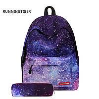 8559f22b2214 Модный молодежный рюкзак с рисунком звездного неба для школы, путешествий