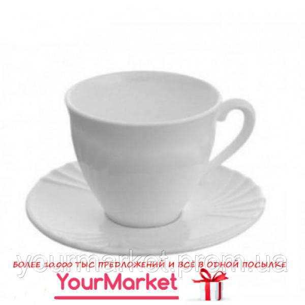 Чашка с блюдцем Luminarc Cadix 220 мл 2 пр