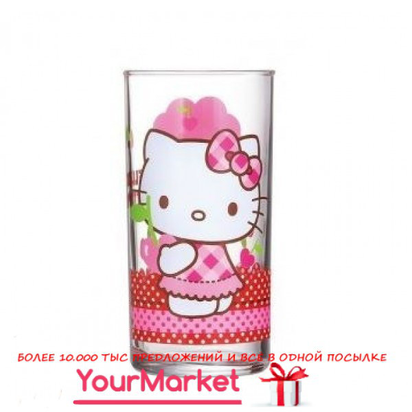 Стакан высок. Luminarc Disney Hello Kitty Cherries 270 мл