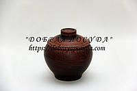 Горшок для запекания из красной глины молоченный