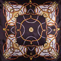 Платок большой ETERNO Платок женский атласный 88 на 90 см ETERNO (ЭТЕРНО) ES0406-5-9-Y