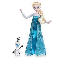 Кукла Эльза Дисней с Олафом Холодное сердце дисней Elsa Classic Doll with Olaf Figure