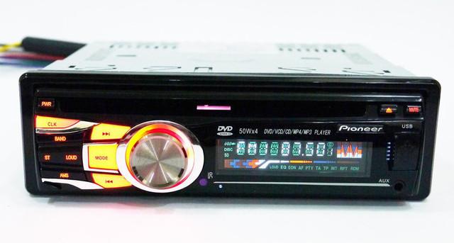 Автомагнитола с хорошим звучанием Pioneer 3218 универсальная DVD магнитола