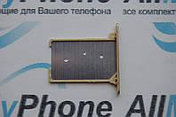 Держатель sim-карты для мобильного телефона Xiaomi MI3, золотой