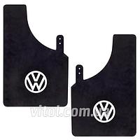 Брызговики для автомобиля Volkswagen 54884 черный, маленкие, в упаковке 2 шт, автоаксессуары для Volkswagen, брызговики, комплект брызговиков