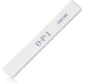 Пилка для коррекции искусственных ногтей пилки OPI 100/180 Прямоугольная har/21 dm
