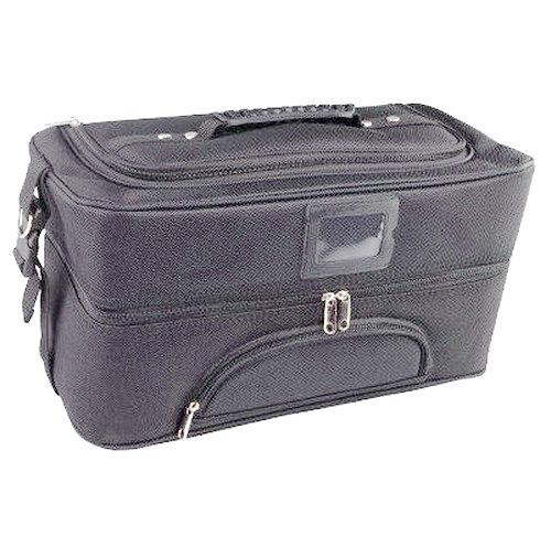 Сумка чемодан для мастера черная Бьюти Кейс бокс саквояж для Косметики органайзер косметика