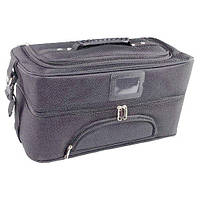 Сумка чемодан для мастера черная Бьюти Кейс бокс саквояж для Косметики органайзер косметика, фото 1