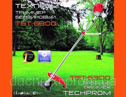Бензокоса Техпром 6300 (1 дисков / 1 бабина), фото 2
