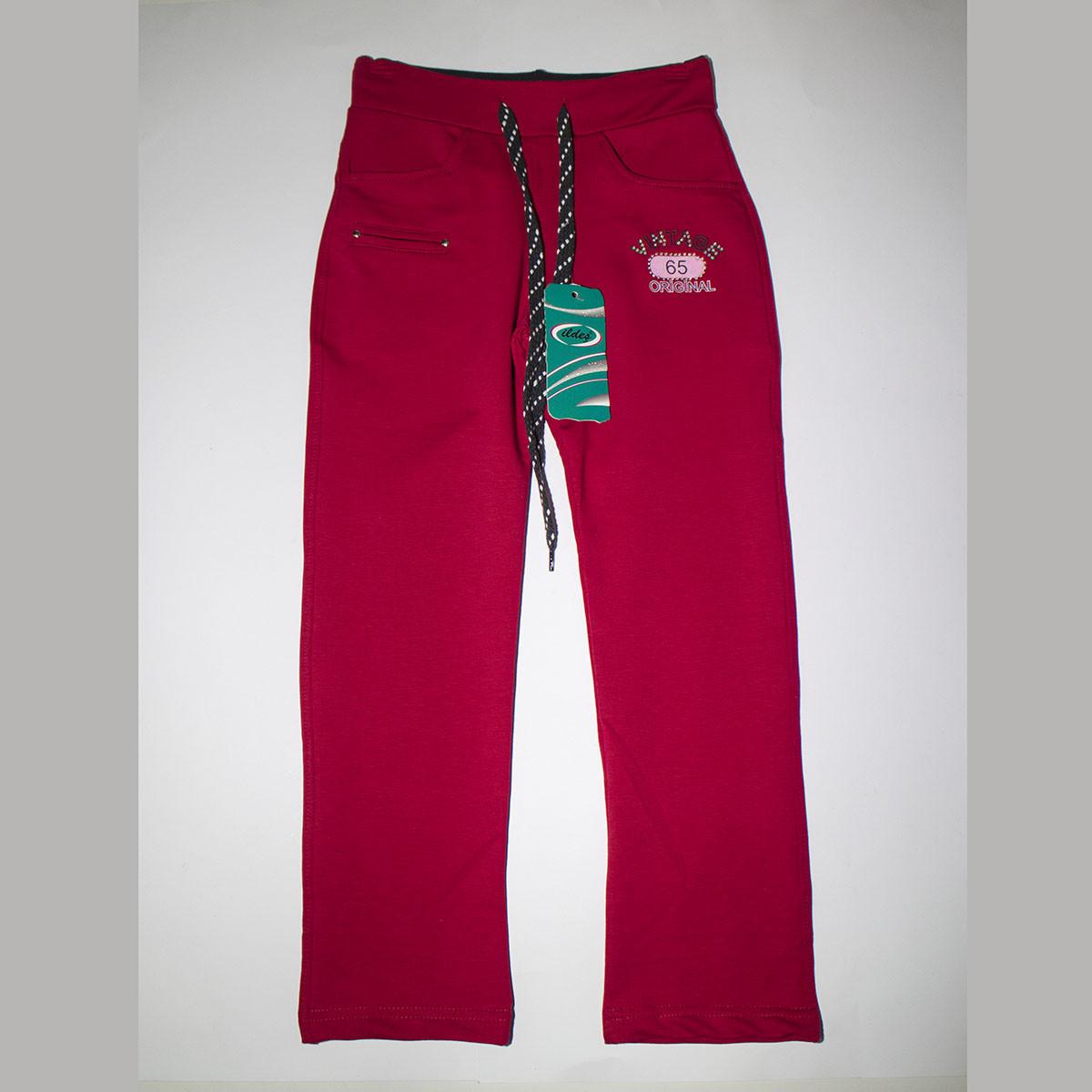 Подростковые трикотажные брюки на девочек пр-во Турция 5254