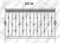 Ограждение балкона. Комплект элементов 2000х1200