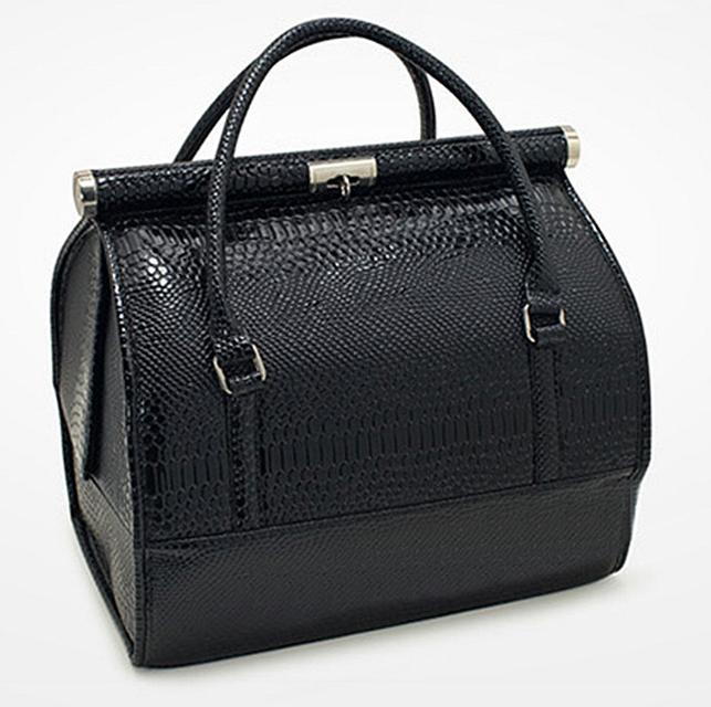 Бьюти Кейс для хранения косметики Сумка чемодан для мастера черная саквояж органайзер har/-051 dm