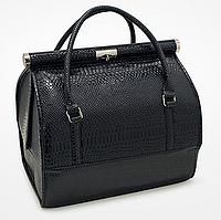 Бьюти Кейс для хранения косметики Сумка чемодан для мастера черная саквояж органайзер har/-051 dm, фото 1